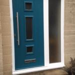 green door opening