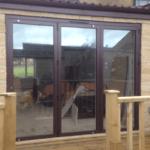 sliding doors from outside